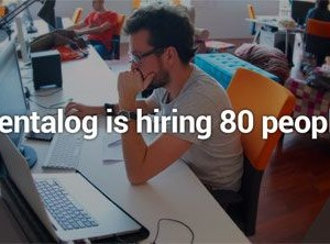 Pentalog is hiring 80 people
