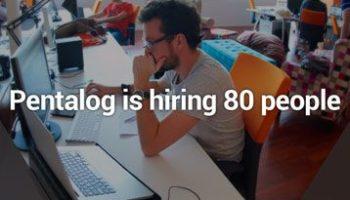 Pentalog is hiring 80 people