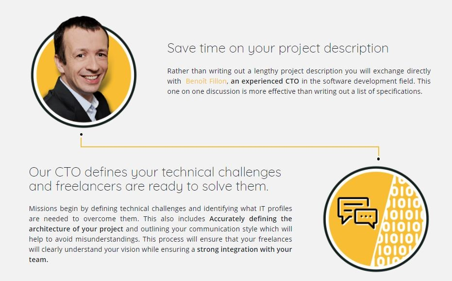 Save time on your project description