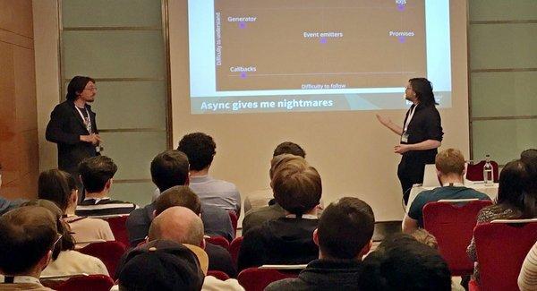 front-end developer - javascript conference