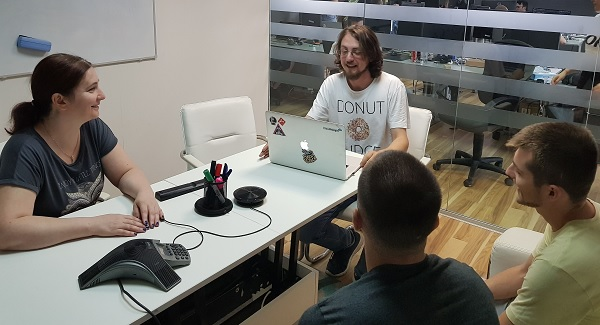 front-end developer - pentalog cluj