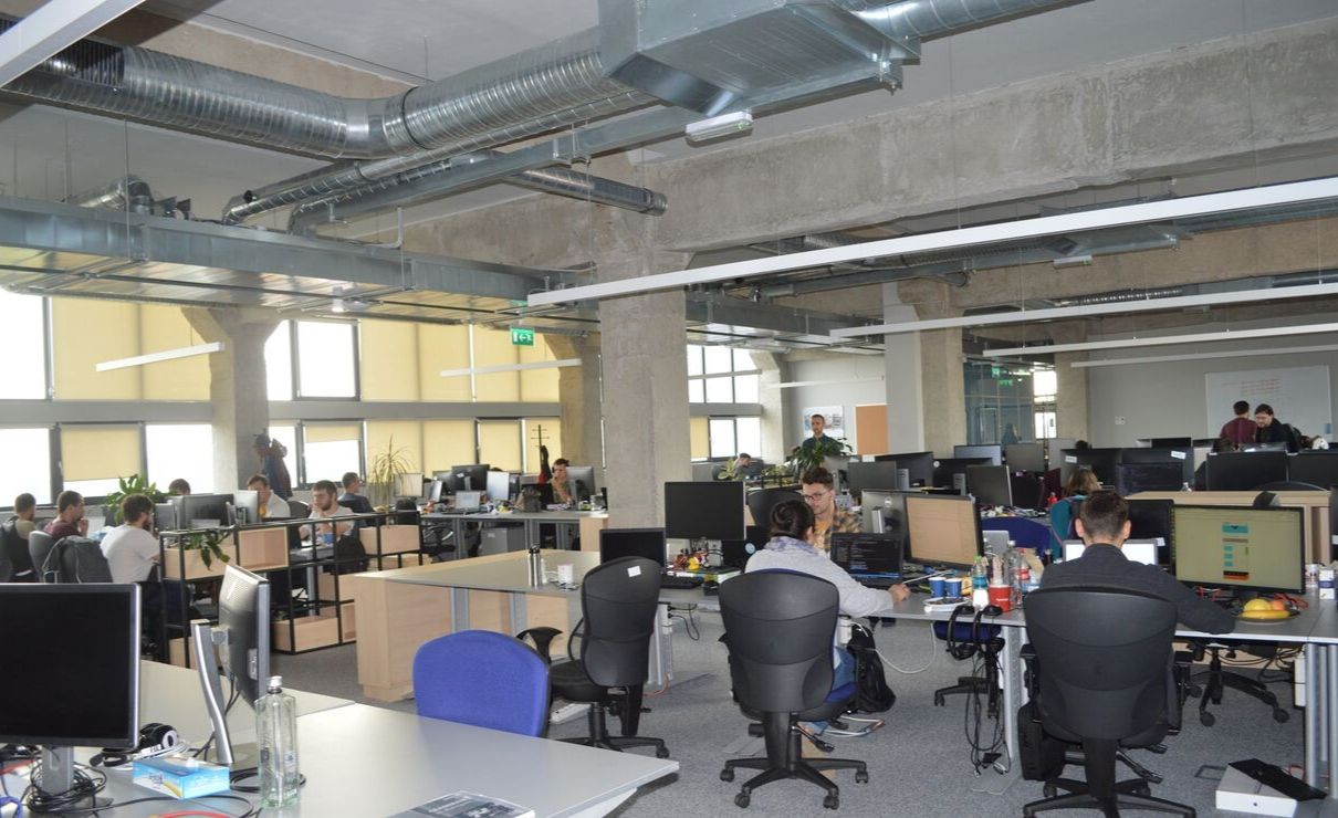 pentalog cluj - it development - new office
