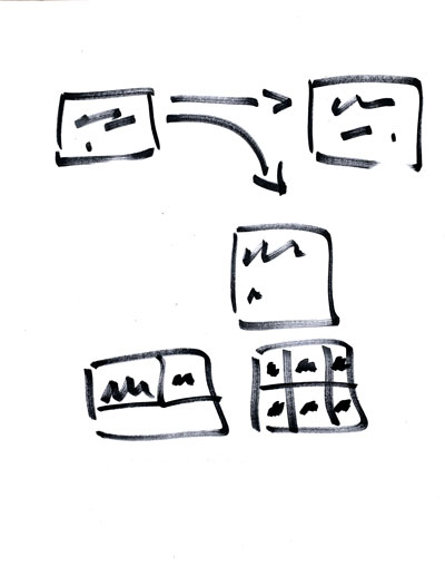 Design Sprint Sketching step two