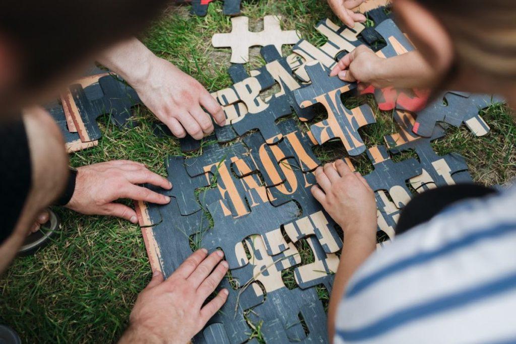 Virtual Team Building Activities - PentaPuzzle