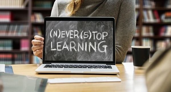 Working and learning from home - Never stop learning