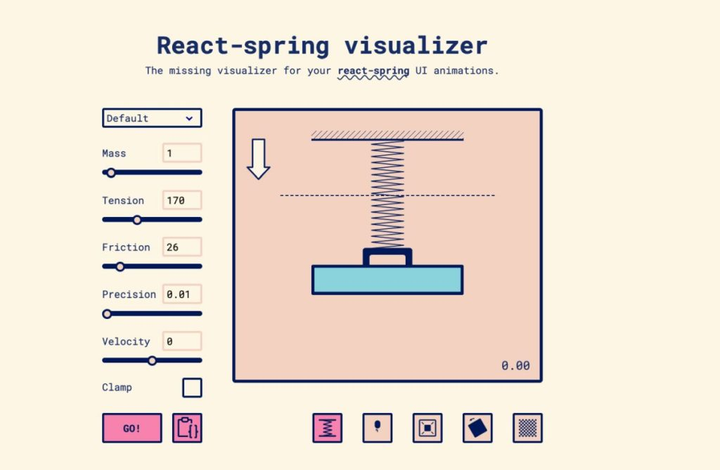 React Spring Visualizer