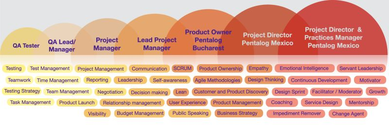 PM career story pentalog