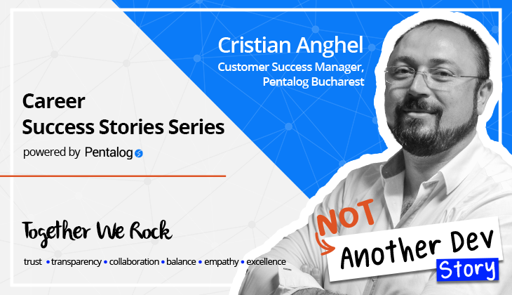 IT Manager Pentalog - Cristian Anghel