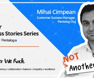 Mihai Cimpean's Professional Success - Pentalog