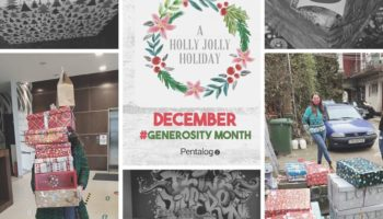 Generosity month at Pentalog