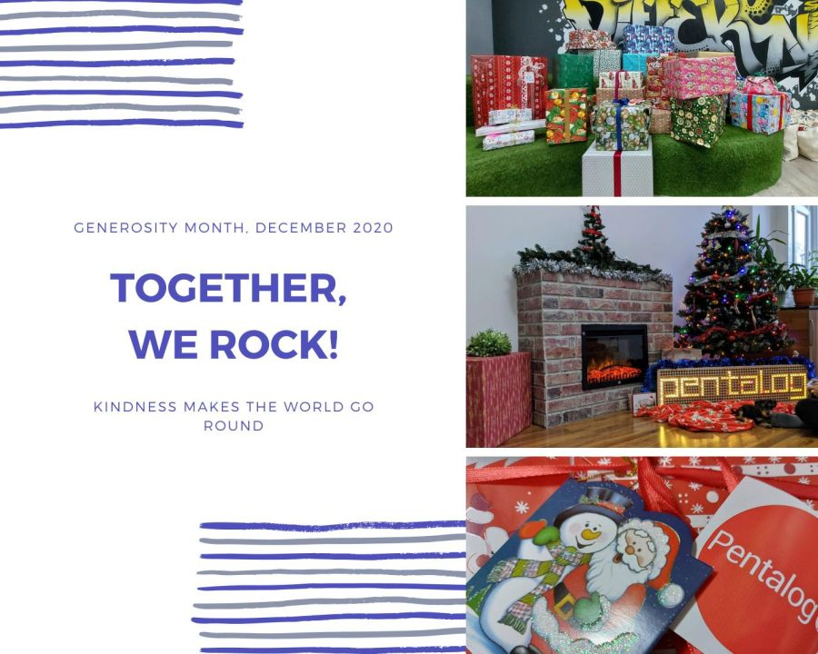 Generosity month - presents for children